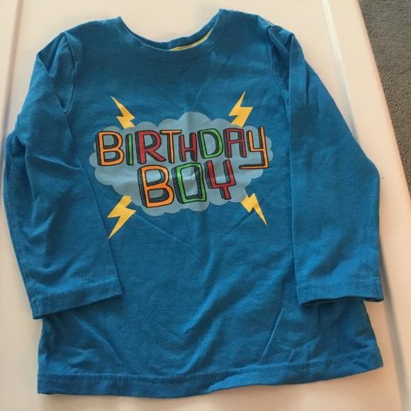 Cat Jack Birthday Boy Shirt Size 4T